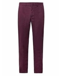 Dark Purple Chinos