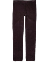 Gieves Hawkes Slim Fit Cotton Corduroy Trousers