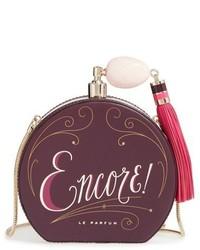 New york on pointe encore perfume frame clutch burgundy medium 1027023