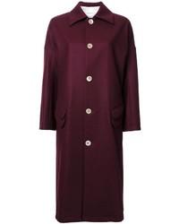 JULIEN DAVID Single Breasted Coat