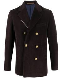 Eleventy Double Breasted Corduroy Jacket