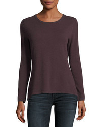 Cashmere collection cashmere crewneck sweater medium 4948530