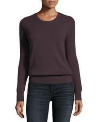 Cashmere collection classic cashmere crewneck sweater medium 4156531