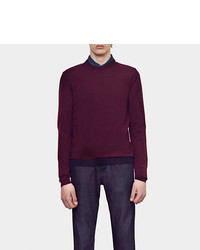 Gucci Wool Crew Neck Sweater