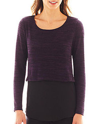 jcpenney Alyx Long Sleeve Layered Sweater