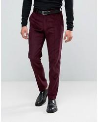 Dark Purple Dress Pants for Men   Men's Fashion