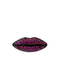 Delfina Delettrez Lips Ruby Earring