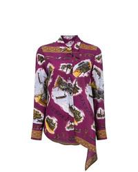 Golden Goose Deluxe Brand Embroidered Asymmetric Shirt