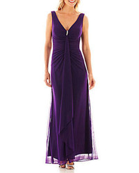 1fdb026a07 ... jcpenney Jump Apparel Blu Sage Sleeveless Formal Gown