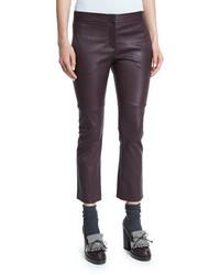 Dark Purple Flare Pants
