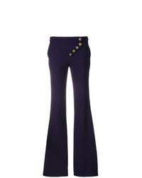 Chloé Asymmetric Flared Trousers