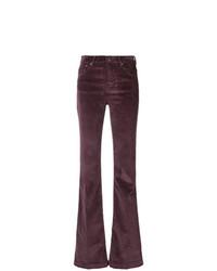 Jacob Cohen Corduroy High Waist Trousers