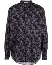 Engineered Garments Floral Print Cotton Shirt