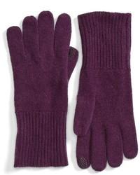 Dark Purple Gloves