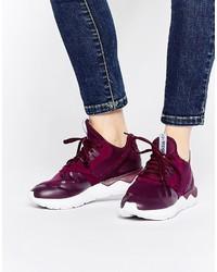 Dark Purple High Top Sneakers