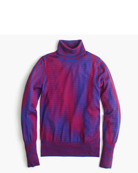 J.Crew Tippi Turtleneck Sweater In Stripe