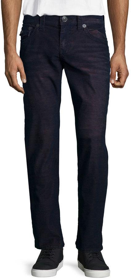 e896e0aea6a ... True Religion Geno Ace Straight Leg Jeans Purple ...
