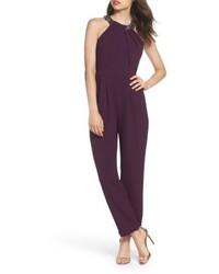 Dark Purple Jumpsuit