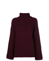 Incentive! Cashmere Cashmere Ribbed Turtleneck Jumper