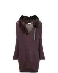 Fabiana Filippi Fur Knit Sweater