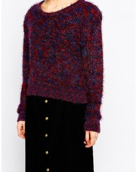 Ivana Helsinki Sweater In Multi Yarn