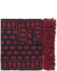 Alexander McQueen Skull Knit Scarf