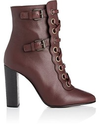Chloé Orson Leather Ankle Boots