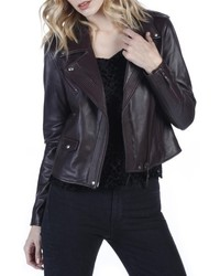 Danette leather moto jacket medium 5260035