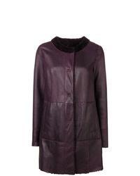 Drome Reversible Collarless Coat