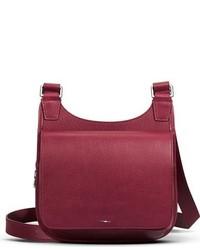 Shinola Small Field Leather Crossbody Bag Black