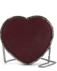 Stella McCartney Falabella Heart Crossbody Bag