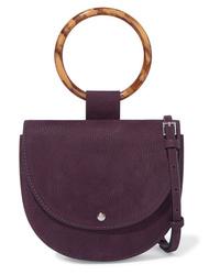 Theory Whitney Small Nubuck Shoulder Bag