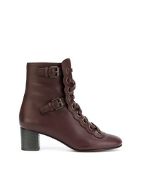 Chloé Orson Lace Up Boots