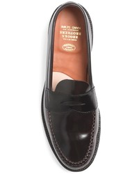 Brooks Brothers Cordovan Unlined Penny Loafers, $738