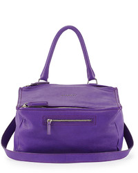 Pandora medium leather shoulder bag purple medium 318605