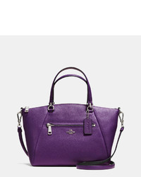Prairie satchel in bicolor pebble leather medium 318606