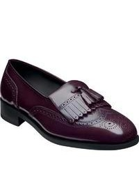Florsheim Lexington Loafer Wine Tassel Loafers