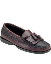 Sperry Top-Sider Tremont Kiltie Tassel Blackamaretto Tassel Loafers