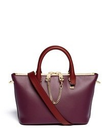 Chloé Chlo Baylee Mini Leather Tote
