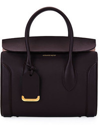 Alexander McQueen Heroine 30 Small Sweet Calf Leather Tote Bag