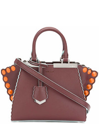 Fendi Mini 3jours Tote With Studs