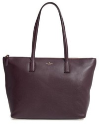 New york young lane nyssa leather tote black medium 4913143