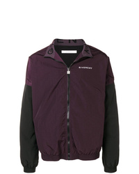 Givenchy Contrast Sleeve Lightweight Jacket