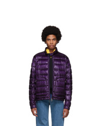 Moncler Purple Down Acorus Jacket