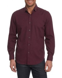 Robert Graham Colin Tailored Fit Sport Shirt