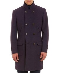 Dark Purple Overcoat