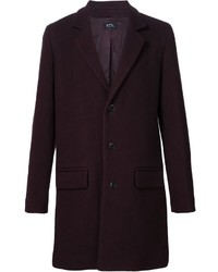 A p c single breasted coat medium 706942