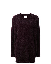 Laneus Oversized Tinsel Jumper