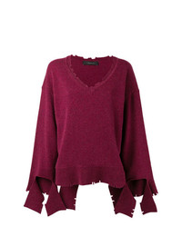 Federica Tosi V Neck Loose Knit Sweater
