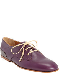 Dark purple oxford shoes original 8534799